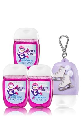 Skater Girl Berry Cool 3 Pack Pocketbac Holder Bath Body