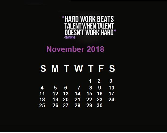 latest motivational calendar template wallpapers in 2018