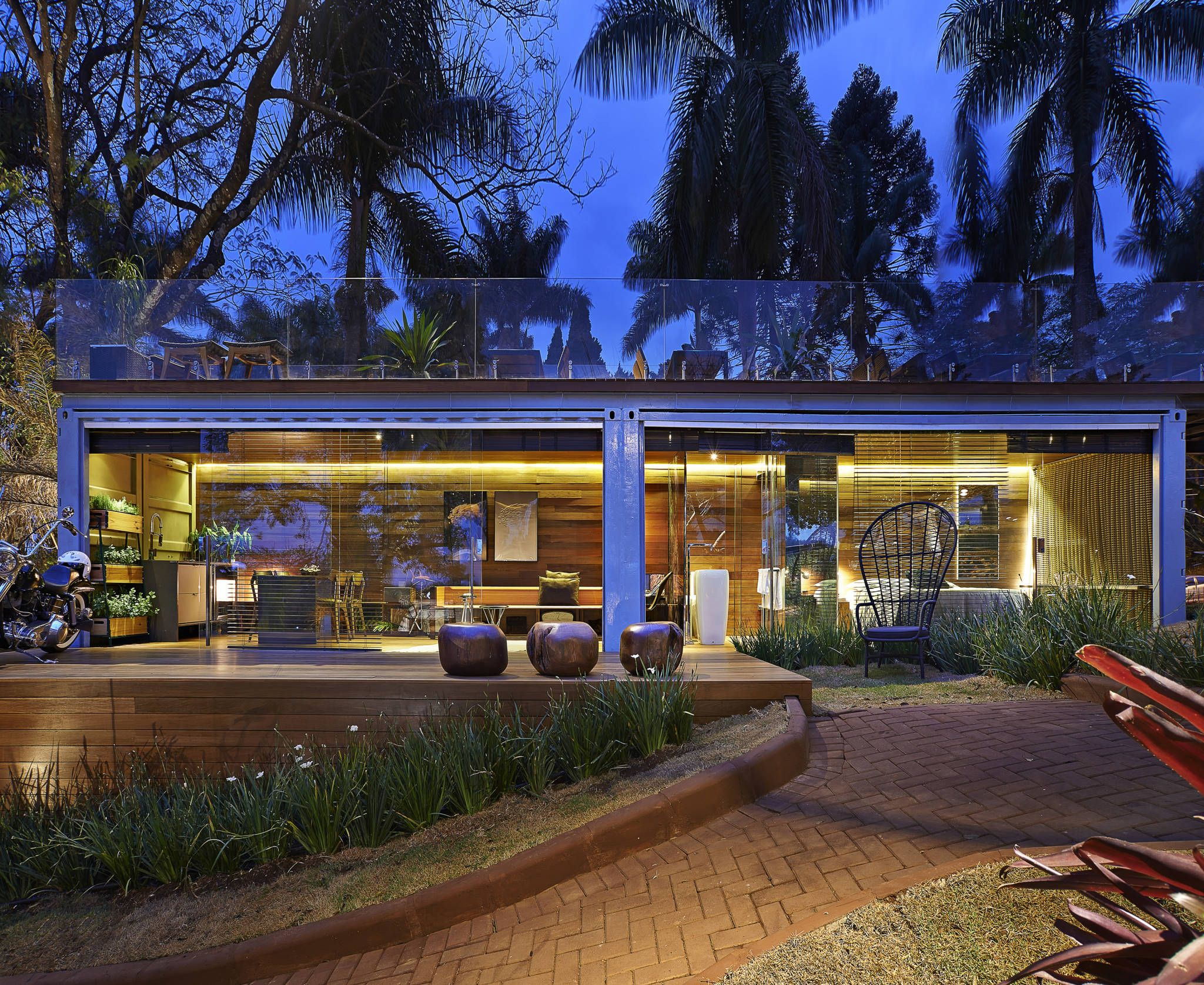 Casas de estilo Rústico de Cristina Menezes Arquitetura