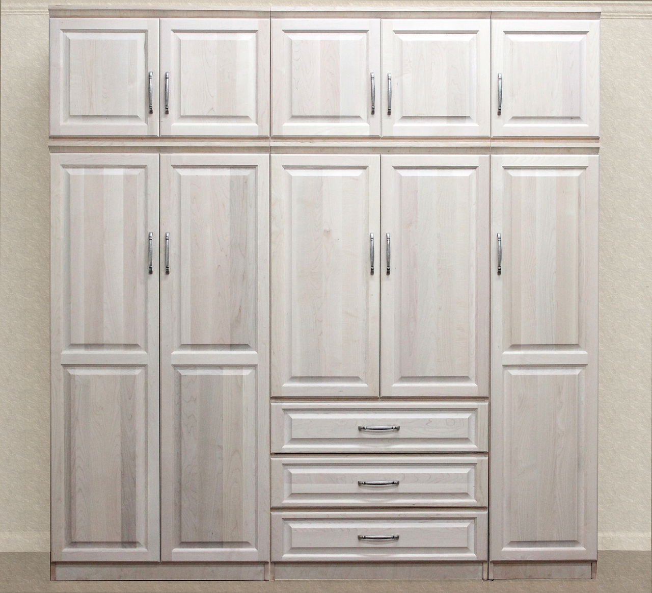 Gothic Cabinet Craft   Raised Panel Wall Closet System 6 Piece Set,  $3,499.00 (http