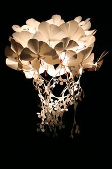 powdercoated steel polypropylene. The orchid light shade is a beautiful sculptural form providing a & powdercoated steel polypropylene. The orchid light shade is a ...