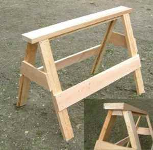 Como hacer caballetes de madera de b squeda proyectos - Caballetes de madera ...