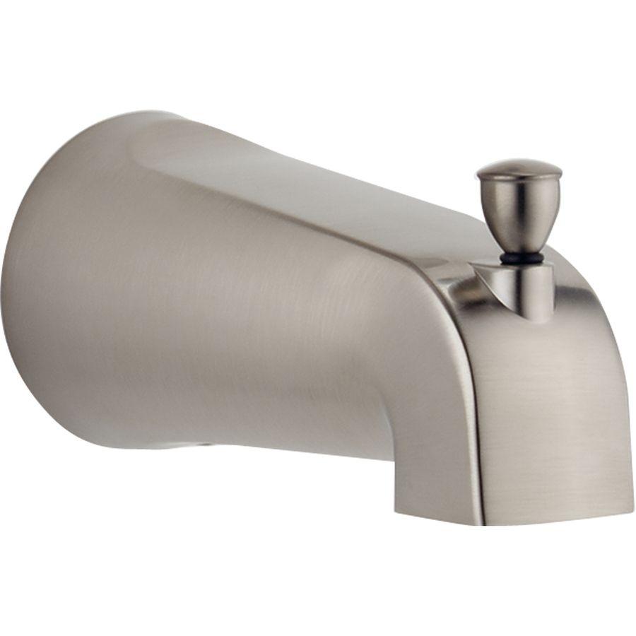 Delta Chrome Bathtub Spout With Diverter At Lowes Com Tub Spout