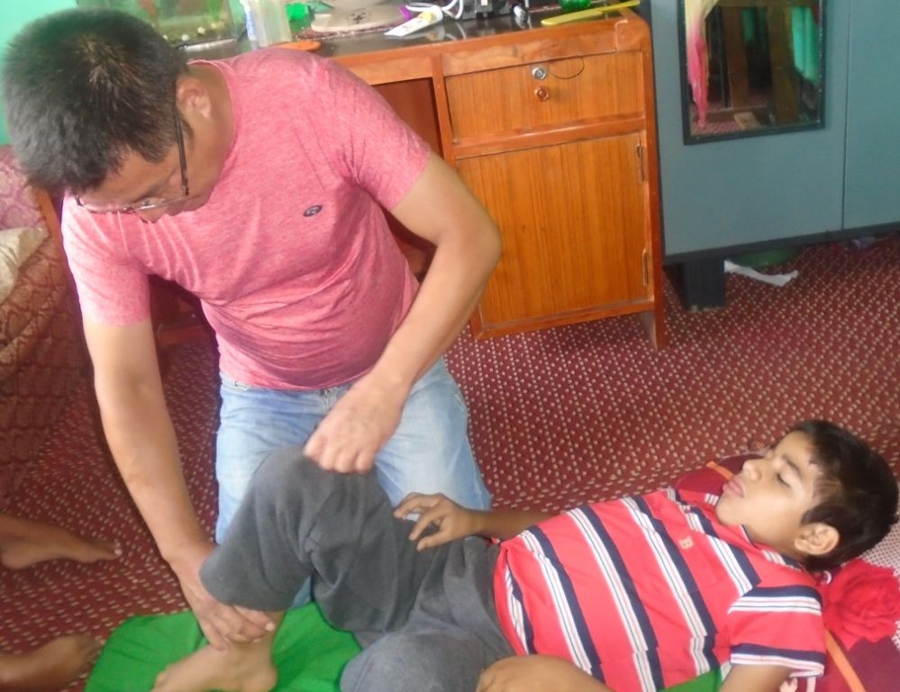 Physiotherapy Service for Muscular Dystrophy boys at the ...