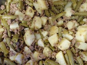 Egg Allergy Cooking Meat Potatoes Green Beans Dinner With Ground Beef Baby Food Recipes Food