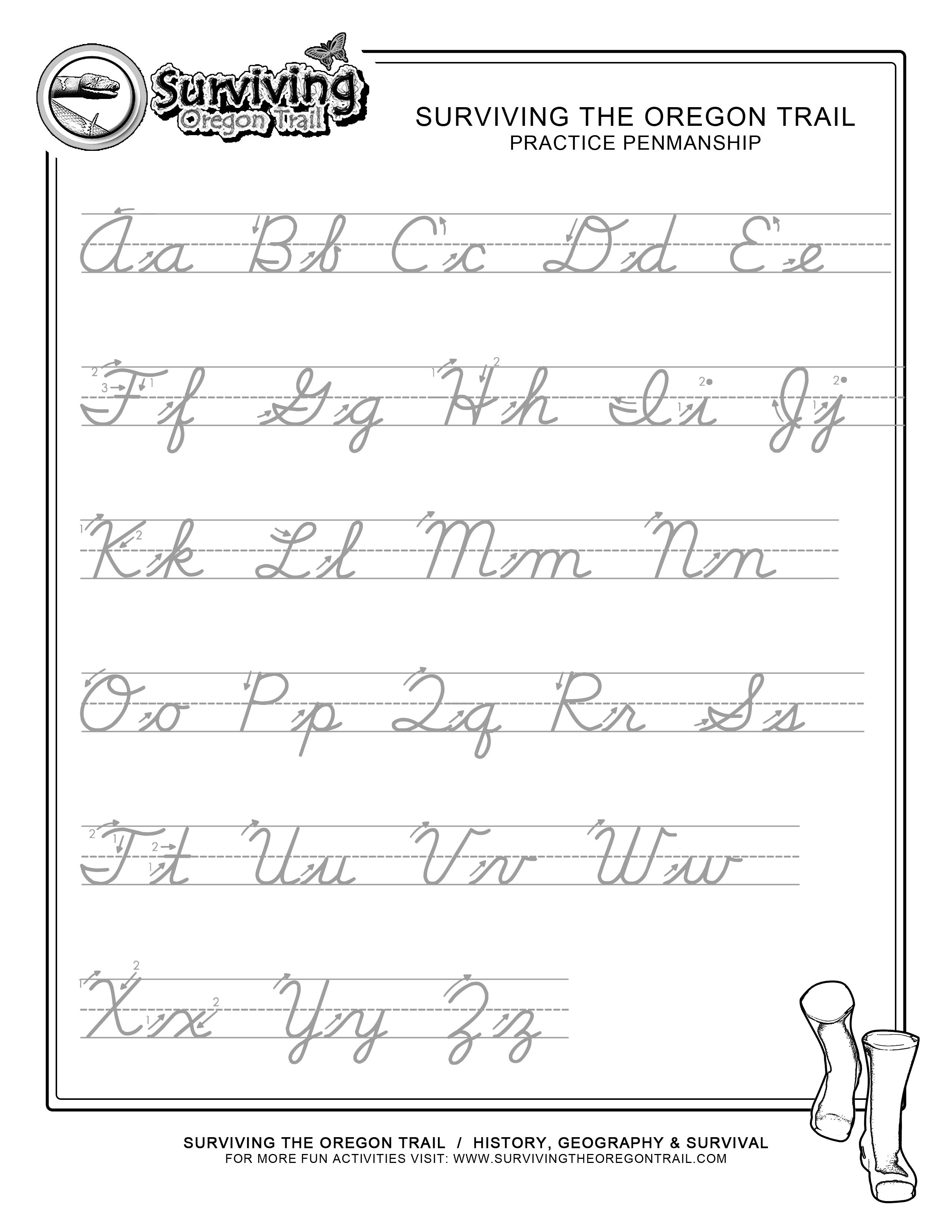 Printables Learn To Write Cursive Worksheets kid uppercase alphabet and cursive writing worksheets on pinterest google search