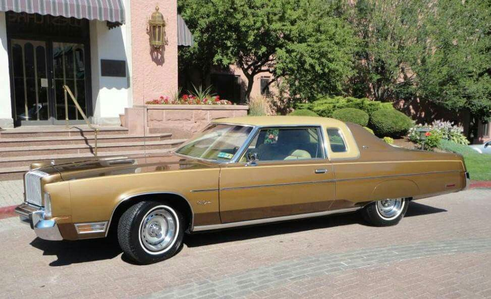 1977 Chrysler New Yorker Brougham With St Regis Roof Option With