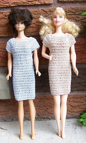 Crochet dress | BARBIE | Pinterest | Muñecas, Tejido y Vestiditos