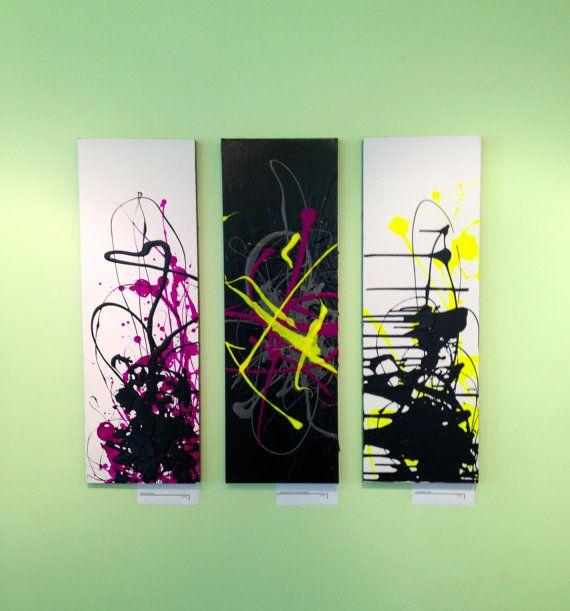 Original Contemporary Abstract Art Canvas by goodgravygreta