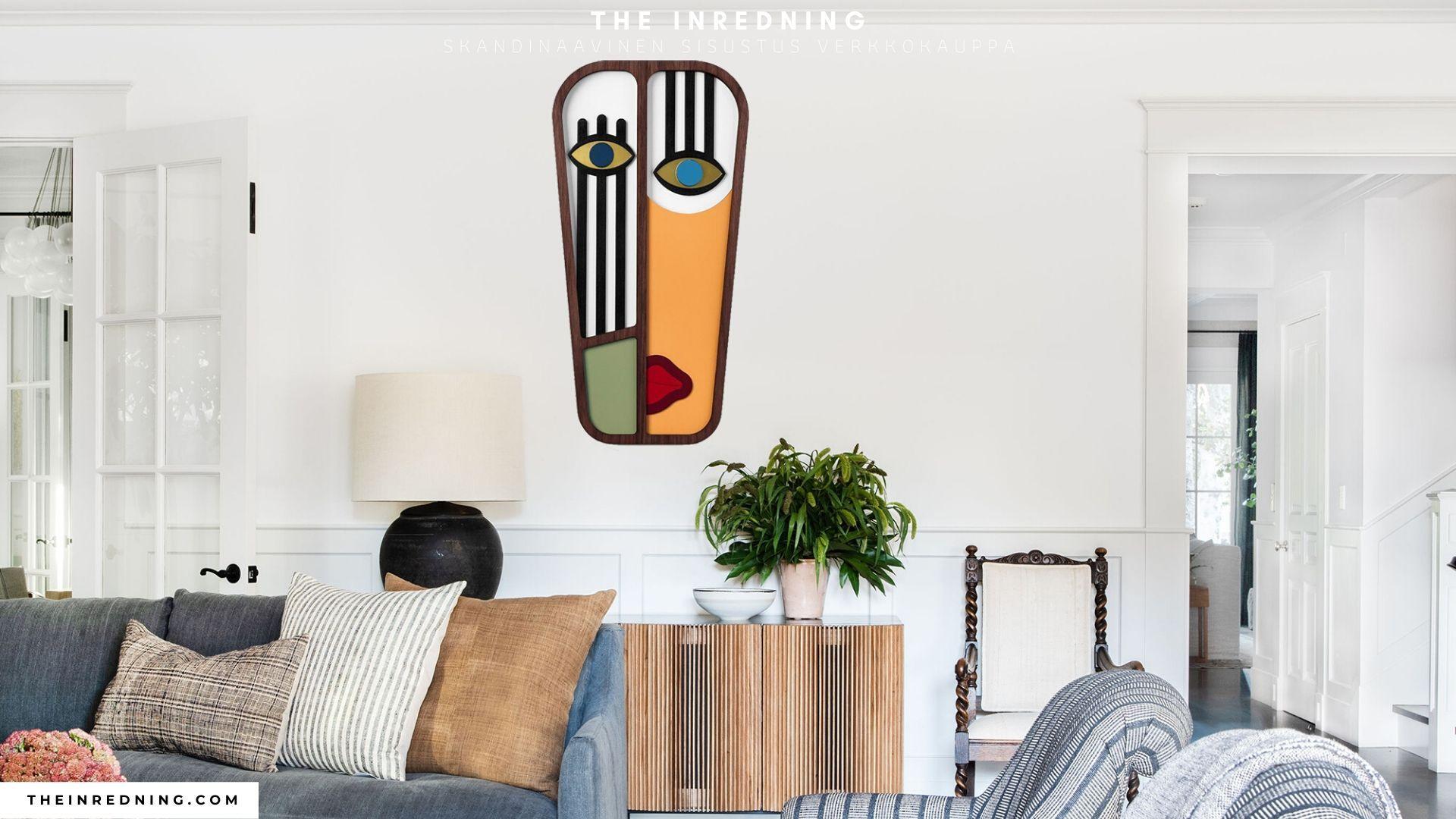 Moderne og Farverige Picasso Plakat til Vægdekoration in ...