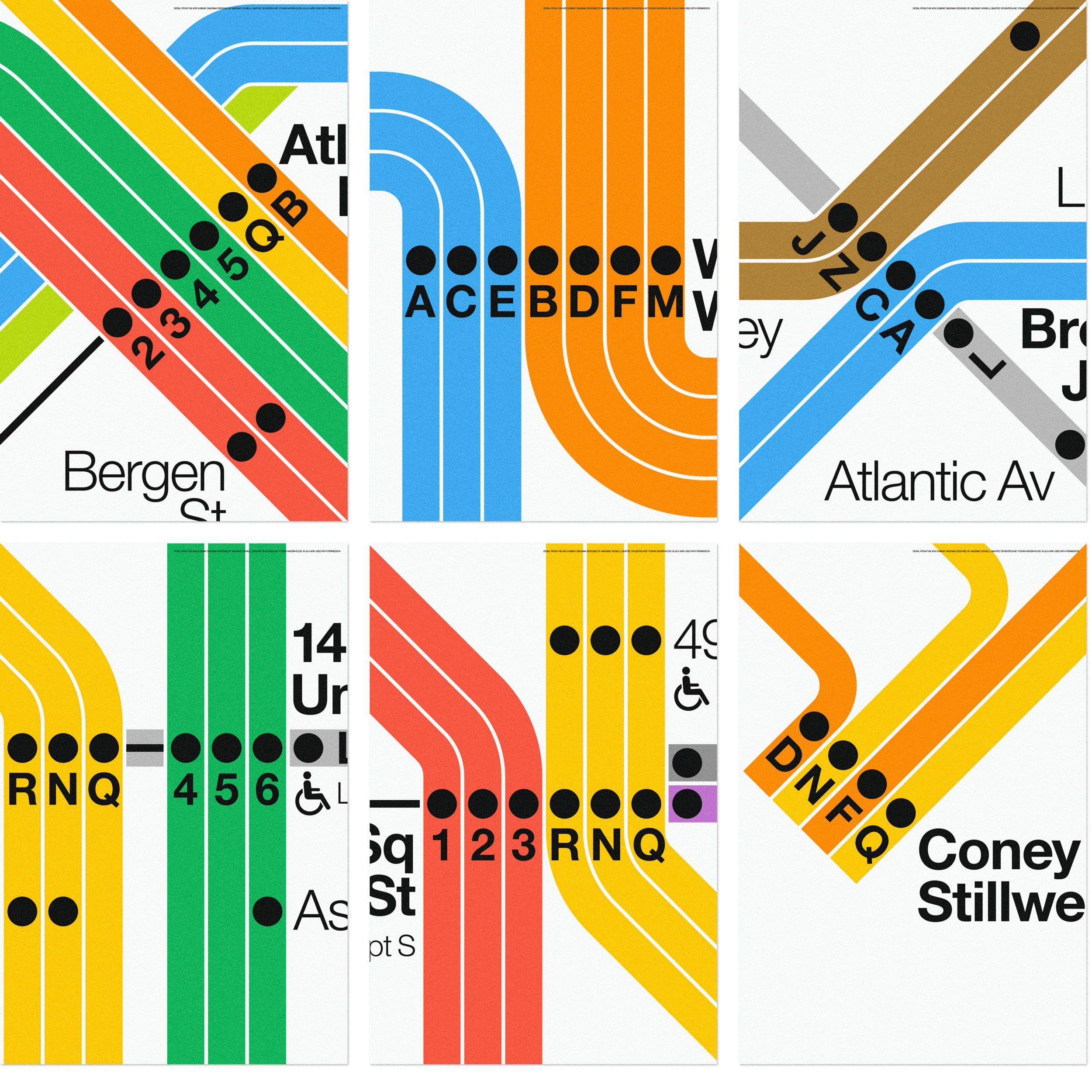 Vineielli Subway Map.Subway Diagram Detail Series Nyc Nyc Subway Nyc Subway Map New