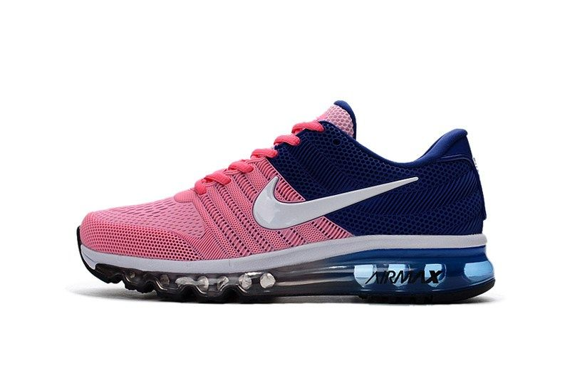 official shop hot sales skate shoes Nike Air Max 2017 Women Pink Blue KPU Shoes | Nike air max, Girls ...
