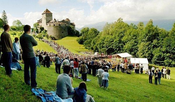 Festival in Liechtenstein