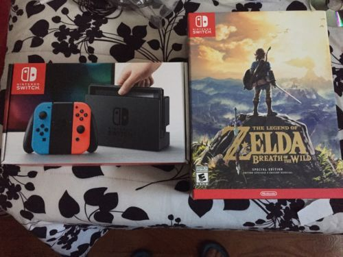 #Trending04 - On Hand Nintendo Switch - Console Zelda: Breath Of The Wild Special Edition http://ift.tt/2mbza72 https://t.co/kjOpfxHXsQ