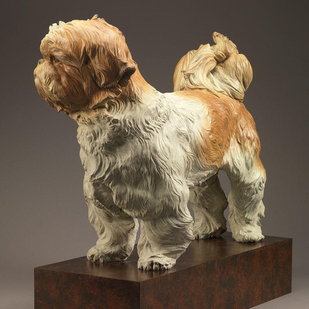 Shih Tzu Bertie Dog Sculpture