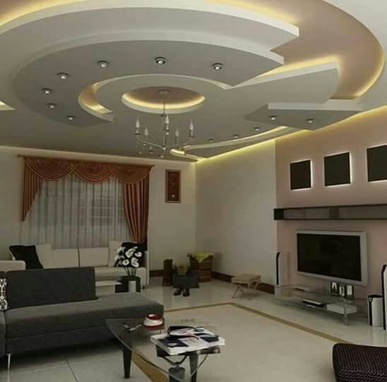 Modern Apartment Bedroom Ideas Bedroom Gypsum Ceiling Designs Bedroom With Accent Wall Bedroom Colours That Go With Red: Diseño De Techo