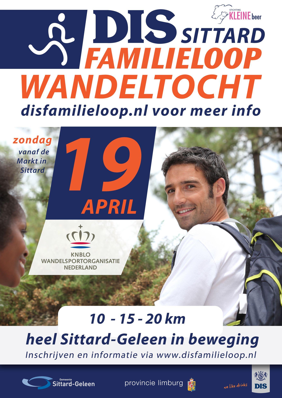 Lekker wandelen op 19 april vanaf de markt van Sittard over een prachtige route met leuke bezienswaardigheden.