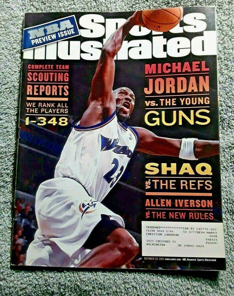 Sports Illustrated October 29 2001 MICHAEL JORDAN WIZARDS