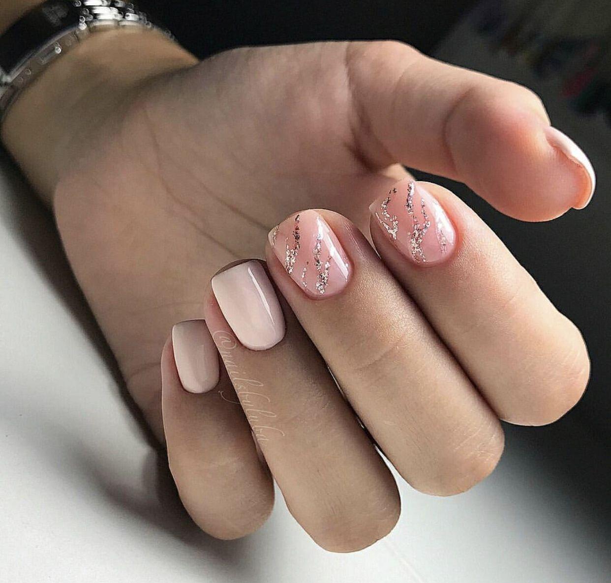 Pin by Andrea Dale on gel nails | Pinterest | Short nails, Nail nail ...