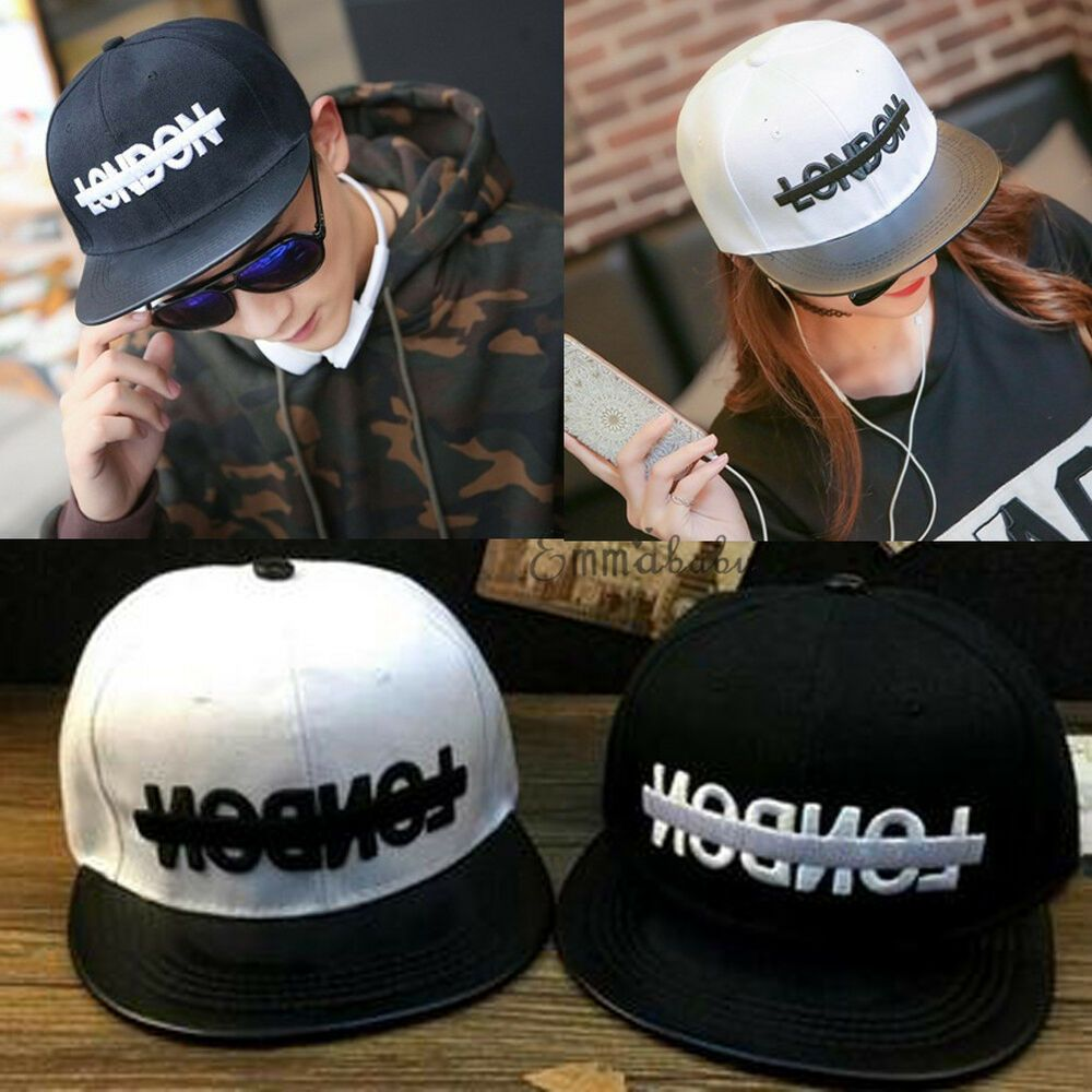 5776a2c6eaf Men Women New Black Baseball Cap Snapback Hat Hip-Hop Adjustable Bboy Caps   as  fashion  clothing  shoes  accessories  mensaccessories  hats (ebay  link)