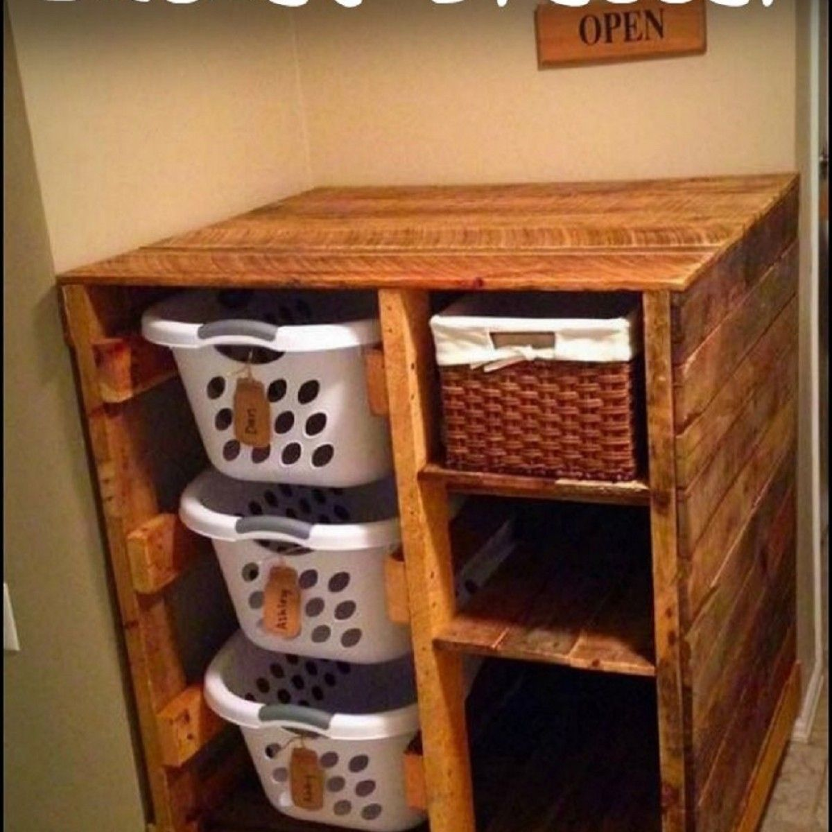 room image ideas dresser small basket with laundry best baskets build of for a