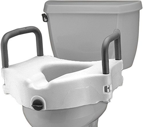 Nova Medical Products Locking Raised Toilet Seat With Detachable