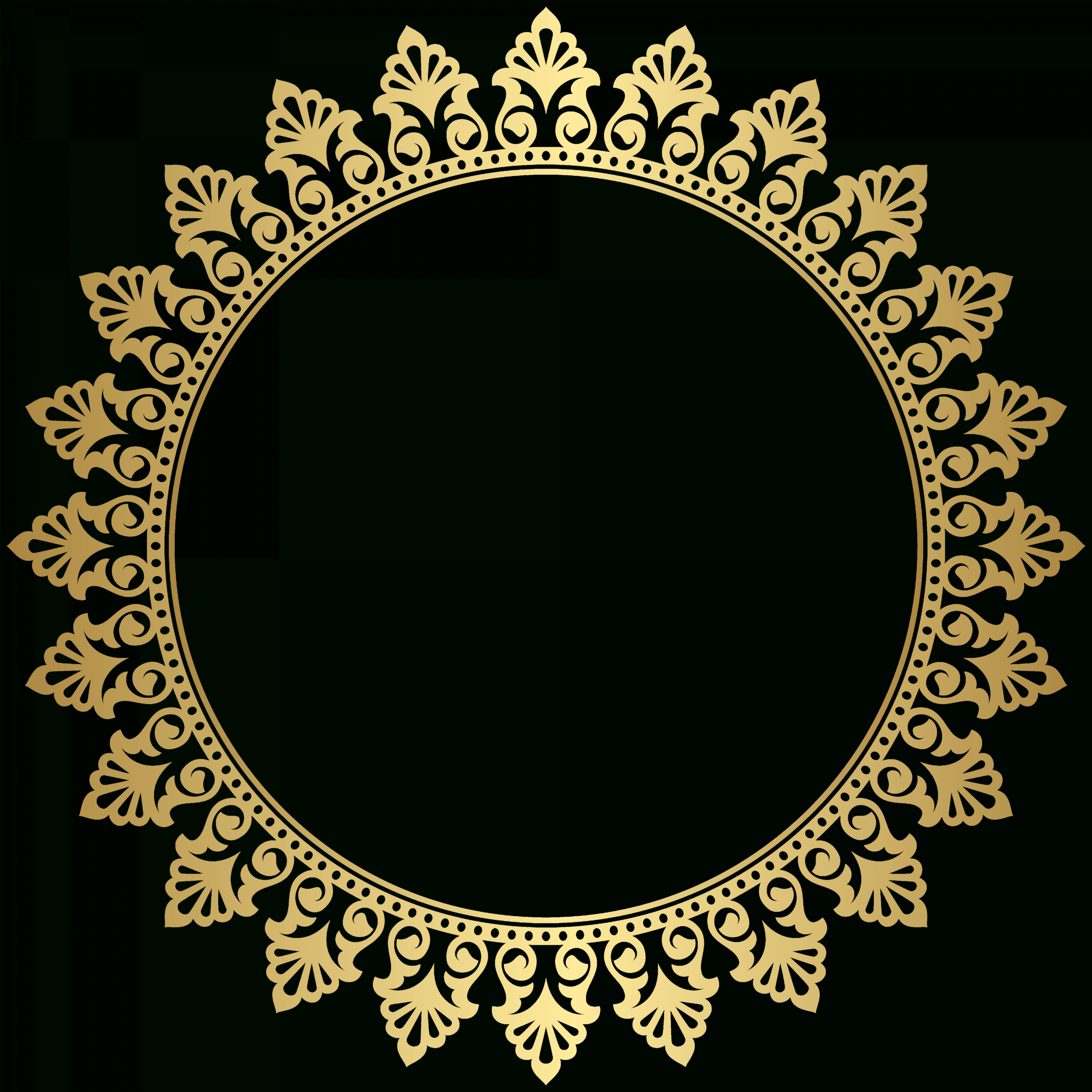 17 Circle Frame Png Circle Frames Circle Frames Clipart Gold Circle Frames