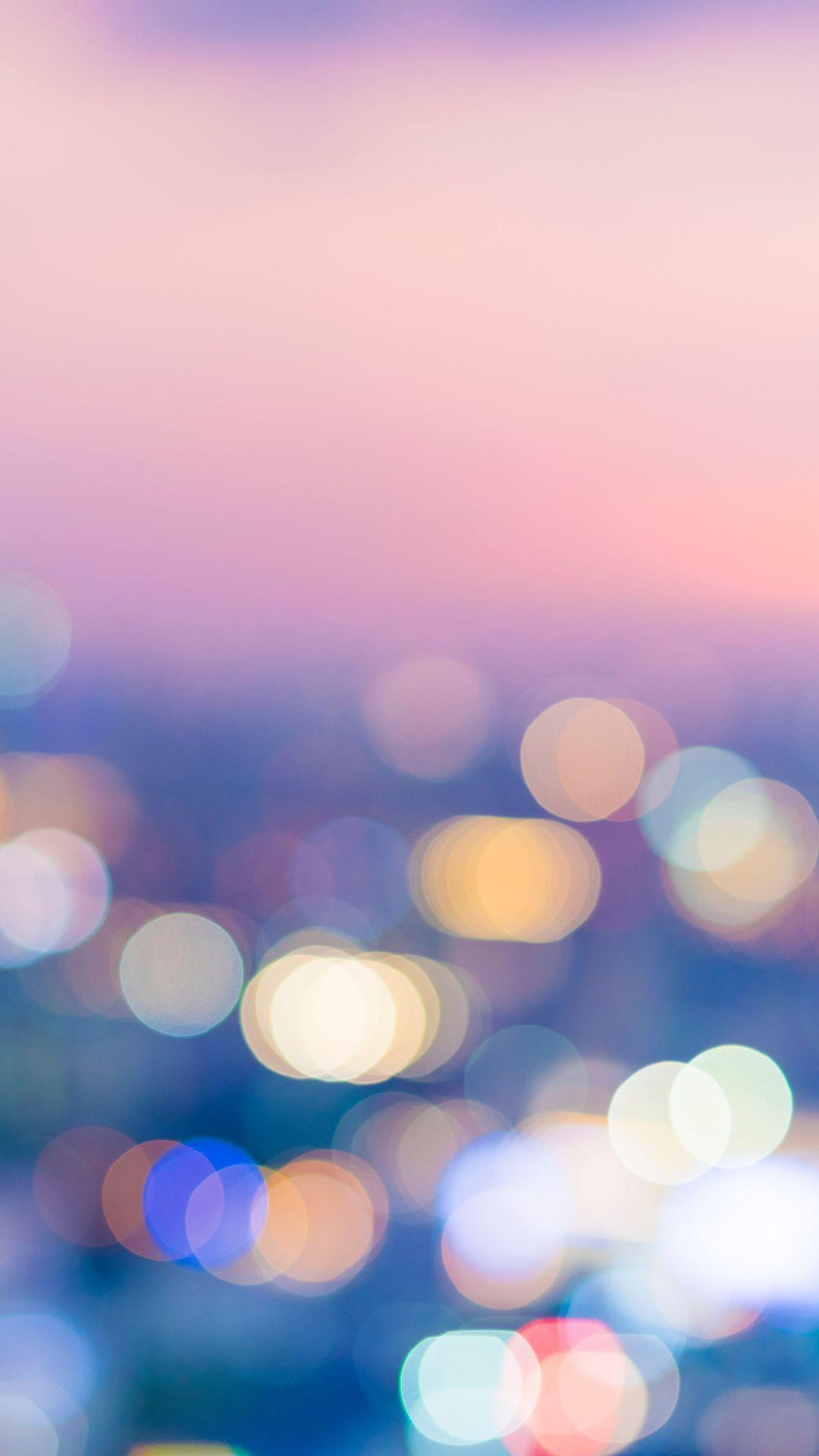 Bokeh Sunset Lights Colorful Wallpaper Bokeh Art Photography