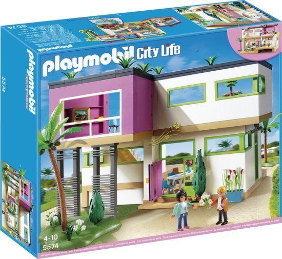 Playmobil Moderne Luxevilla 5574 Eva Christmas 2015