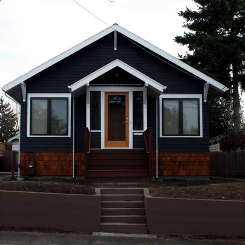 Paint For Home Exteriors: I Love The Idea Of A Black House, And Its Nice To See That