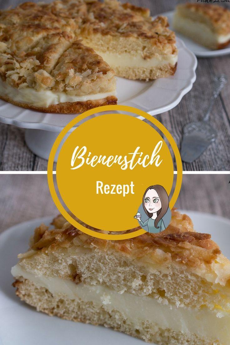 Bienenstich Rezept Kuchen Rezepte Einfach Kuchen Und Torten Rezepte Und Kuchen Rezepte