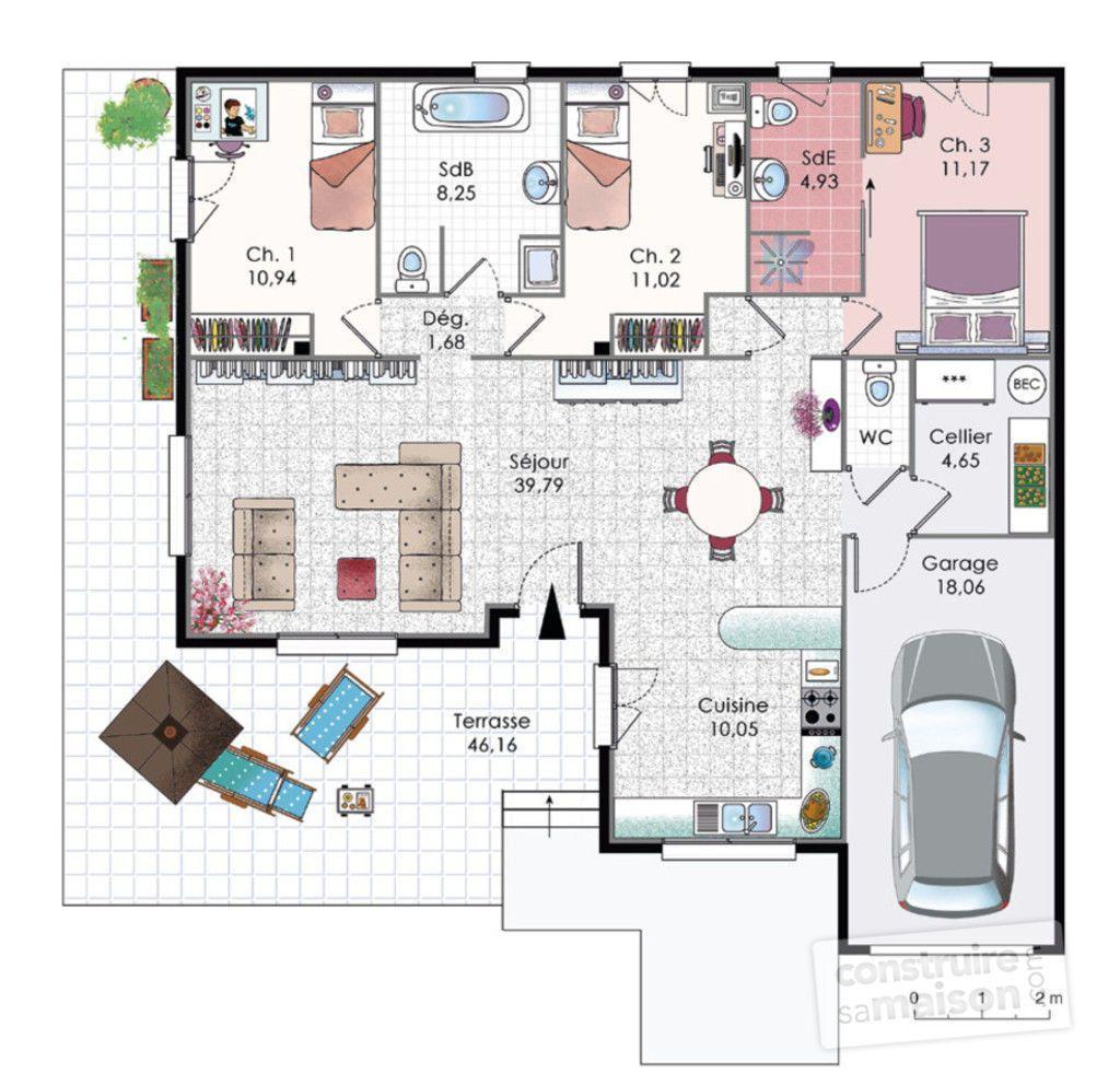 R sultat de recherche d 39 images pour plan petite villa for Plan pour villa