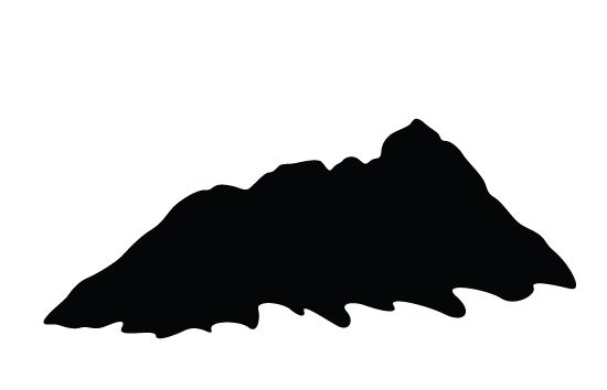 Mountain silhouette vector free download general vector Mountain silhouette