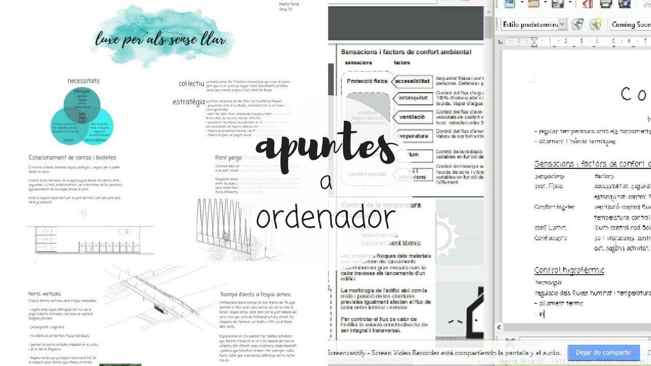 Apuntes Bonitos A Ordenador Apuntes De Clase Apuntes Libreta De Apuntes