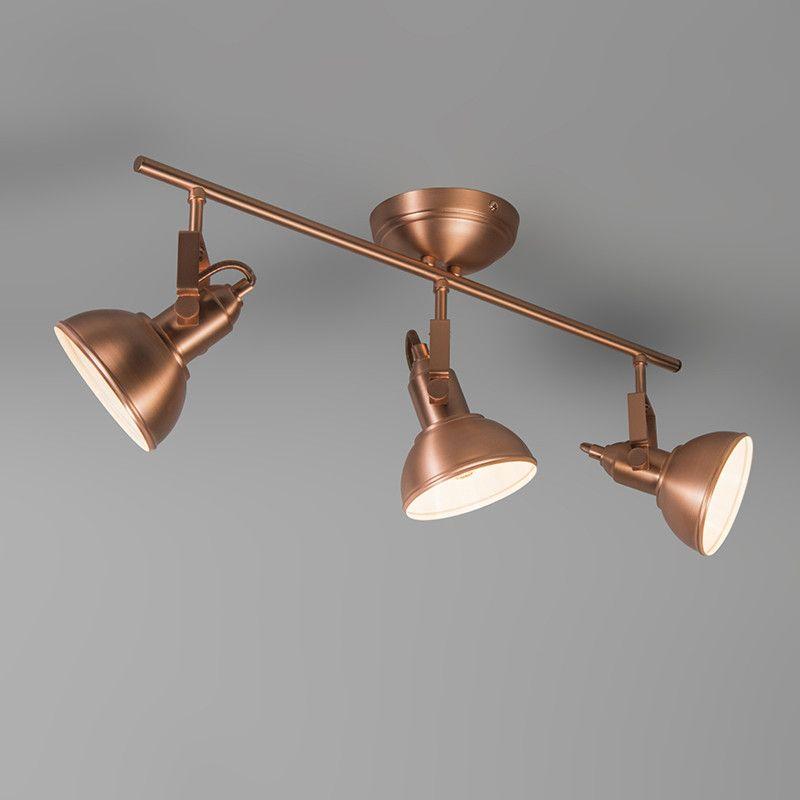 Spotlight Tommy 3 Copper Spots Iluminacao Trilho De Led Luminaria De Trilho