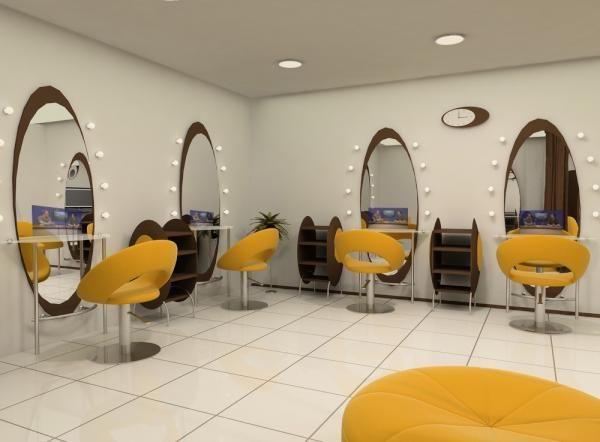 Beautiful salon install.