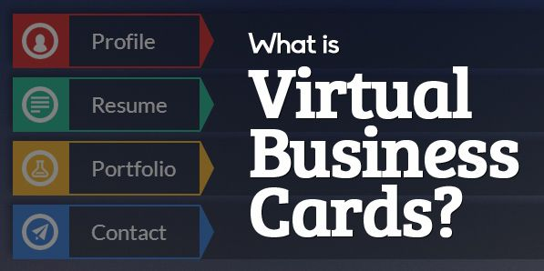 What Is Virtual Business Cards And Beautiful VCard Designs Vcard - Virtual business card template