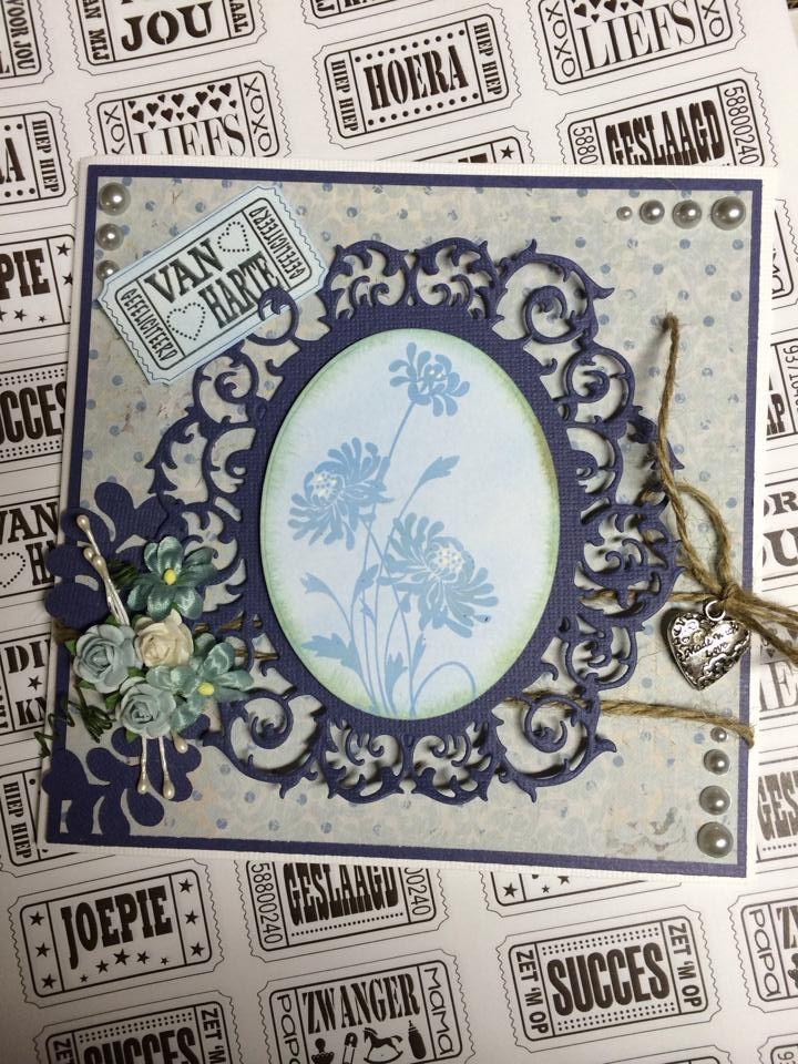 6002/0304 Noor! Design Cutting & Embossing stencil cirkel door Nadia van Hamel