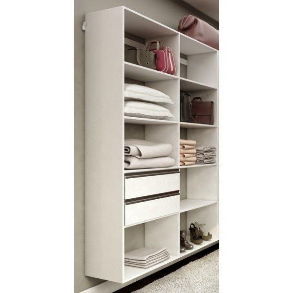 Closet Completo 94 Branco - Getama Móveis