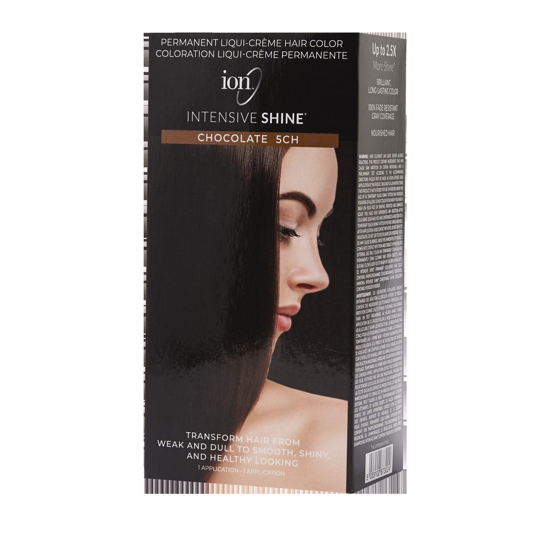 Ion Intensive Shine Hair Color Kit Chocolate 5ch Hair Color Kit In 2021 Hair Color Ion Hair Colors Hair Shine