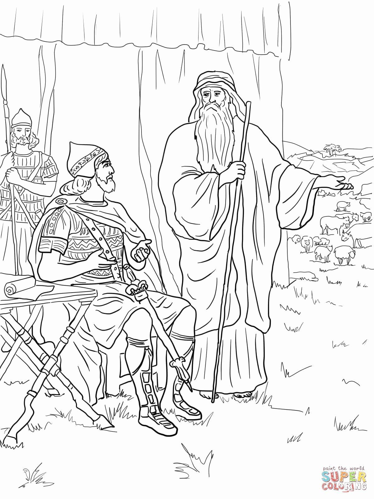 28 King Saul Coloring Page In