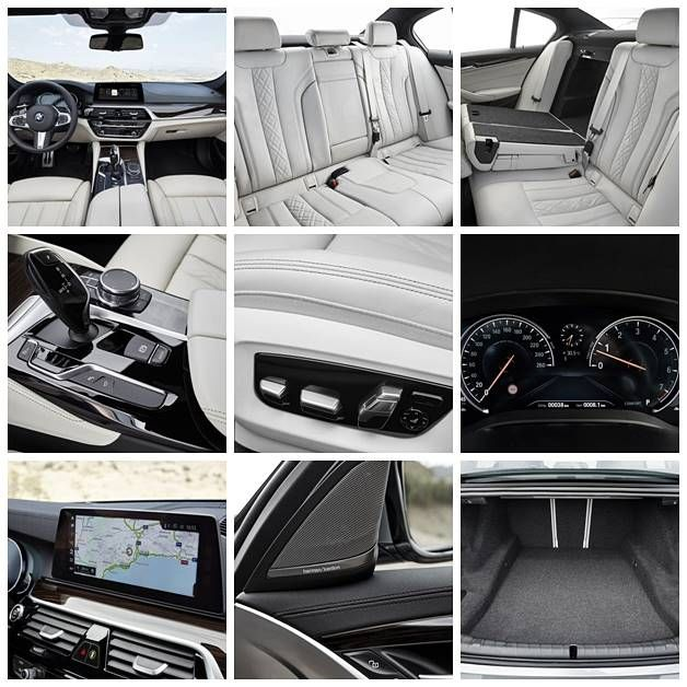 new car press release2017 new BMW 5 Series Sedan G30 Photos Specs Press Release