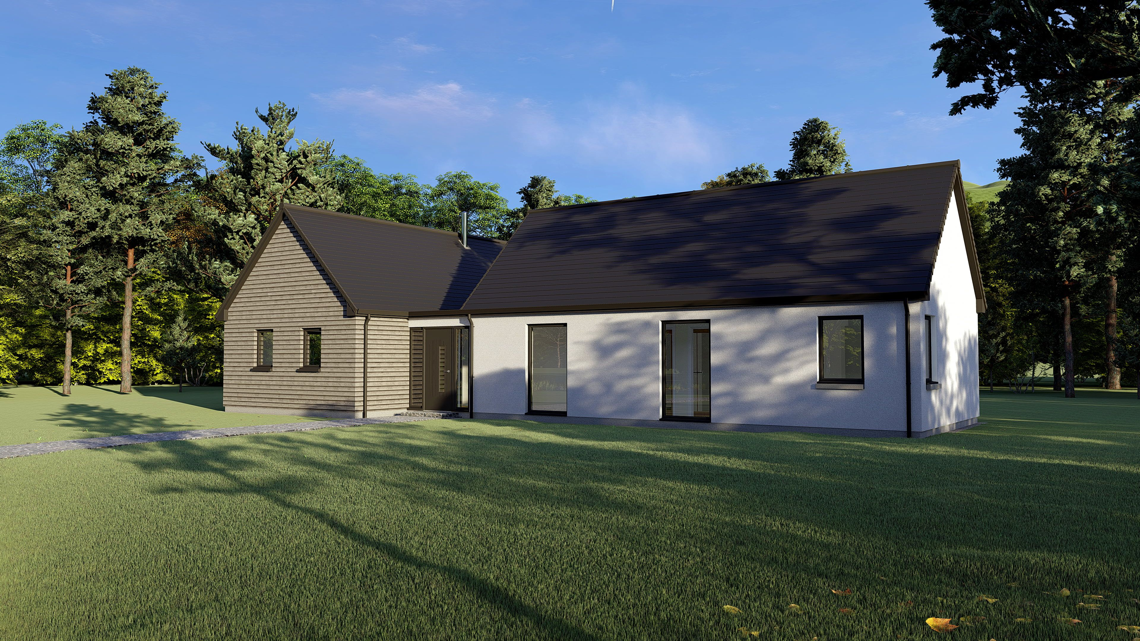 TH04 Thermohaus Timber Frame Kit Homes in 2020 Kit