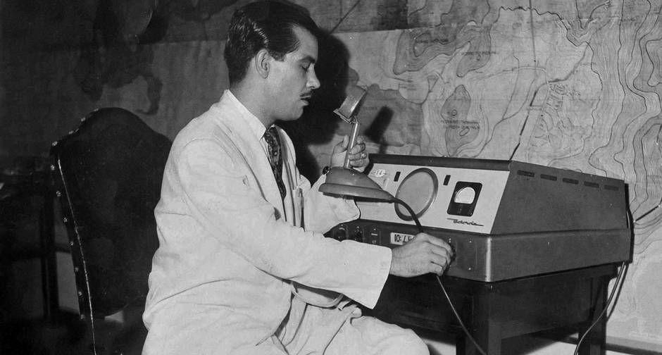 """Almirante. Conhecido como """"a maior patente de rádio"""", o compositor e…"""