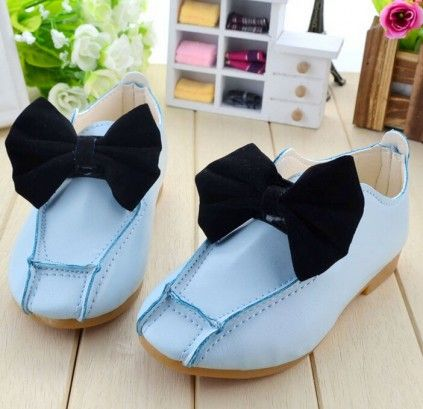 Buy cute and comfortable sky blue color designer loafer shoes for baby girls  online in India.