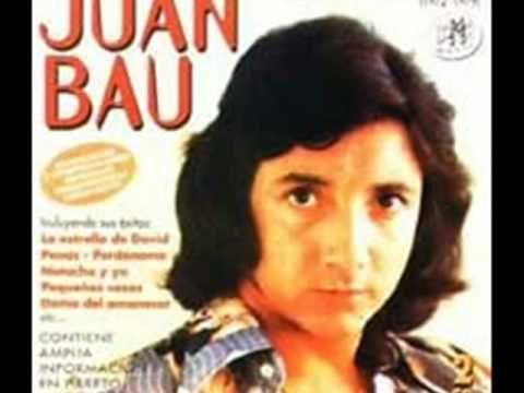 """Juan Bau ♪♪ """"Qué haré mañana sin ti"""". ♪♪ Juan Bau, llegando a lo mas profundo de los sentimientos, al sentirse abandonado. Aquí, se comprueba una soberbia capacidad interpretativa del valenciano."""