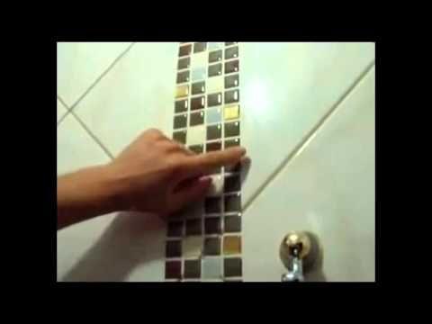 Pastilhas de resina a ultima moda em decorar porcelanato e - Como aplicar microcemento sobre azulejos ...