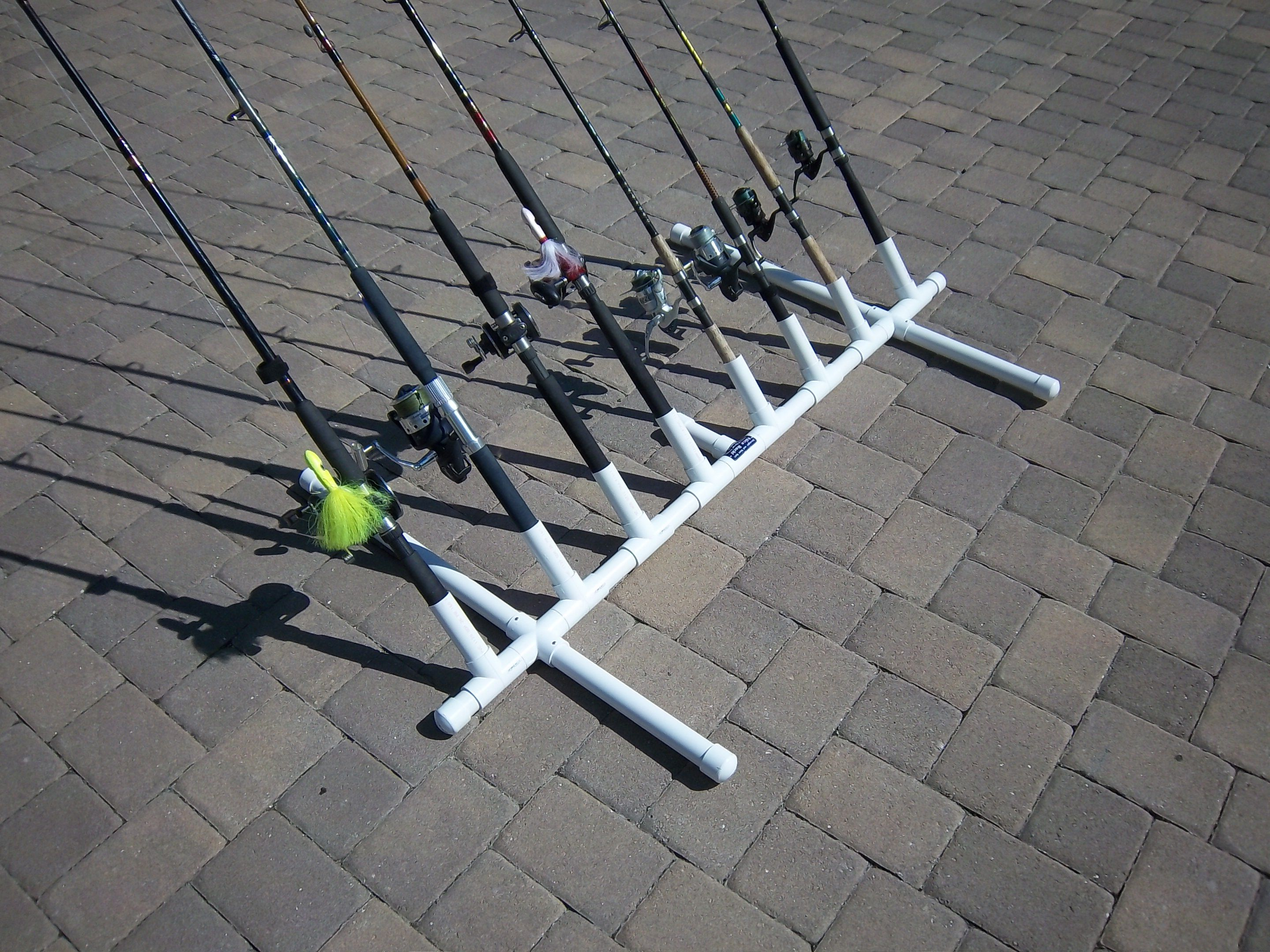 Fishing rod holders for Fishing rod rack