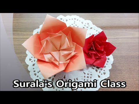 Origami Royal Azalea Flower