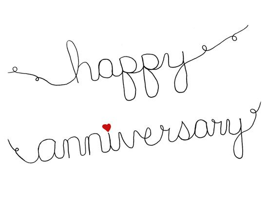 how to say happy anniversary to a couple
